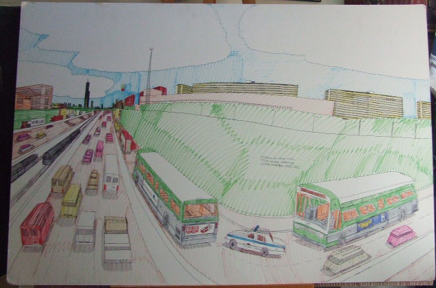 Wesley Willis Drawing