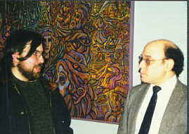 Director Jeremy Wechsler and Artist Robert Kameczura discuss Robert's artwork